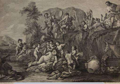 Вакханалія. 1764.