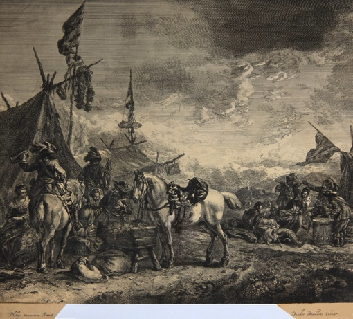 Encampments. Ca. 1670