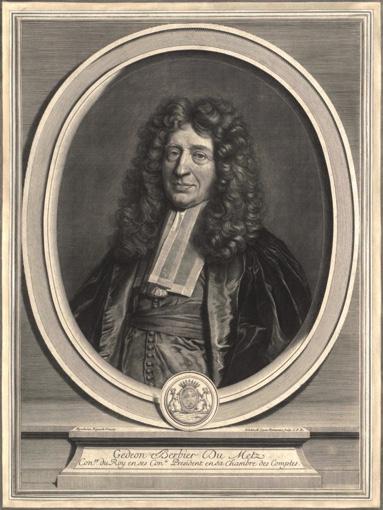 Portrait of Gédéon Berbier du Mets. 1700–1702.