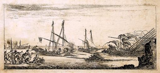 A naval Battle. Ca.1641.