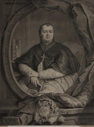 Портрет абата П'єра Майора. 1745.