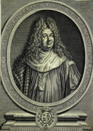 Портрет Жана Антуана де Мема, графа д'Аво. 1713.