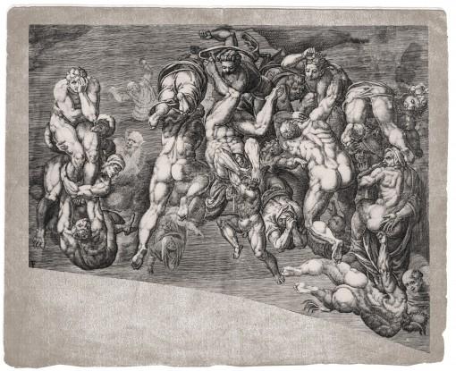 The Last Judgment. 1650. (Sheet F.)