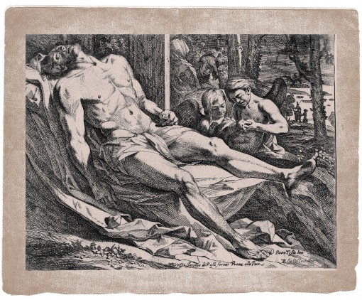 Body of Christ Mourned by Angels. Ca. 1650–1655.