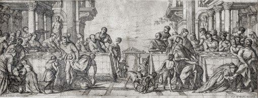 Christ in the house of Simon the Pharisee. 1660