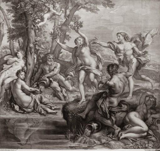 Apollo and Daphne. 1685–1704.