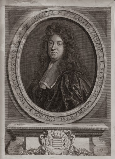 Portrait of State Councilor Louis Urben Lefebvre de Comarten.