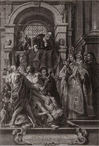 Saint Martin Healing a Possessed Man.