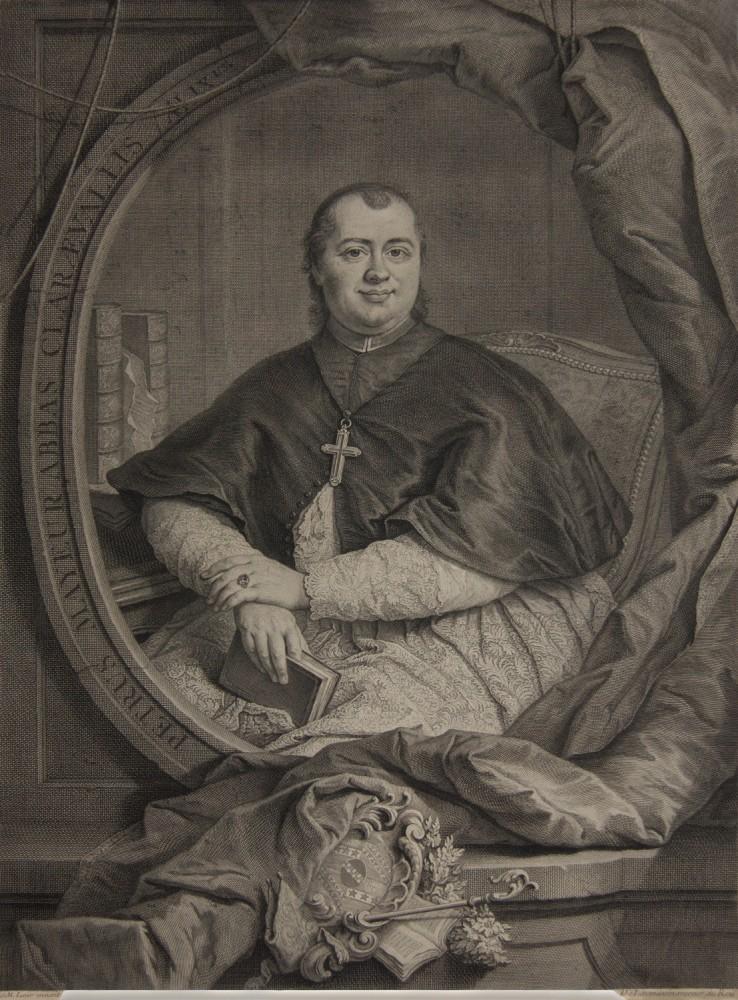 Portrait of the Abbot Pierre Mayeur. 1745.