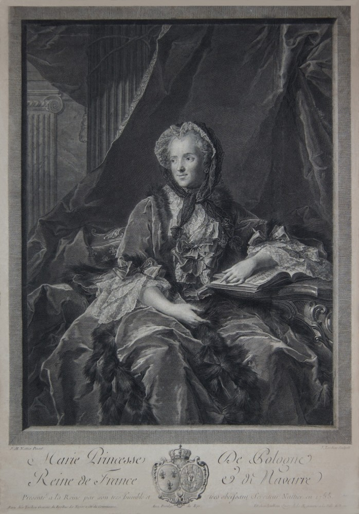 Portrait of Maria Leszczyńska, Queen of France. 1755.