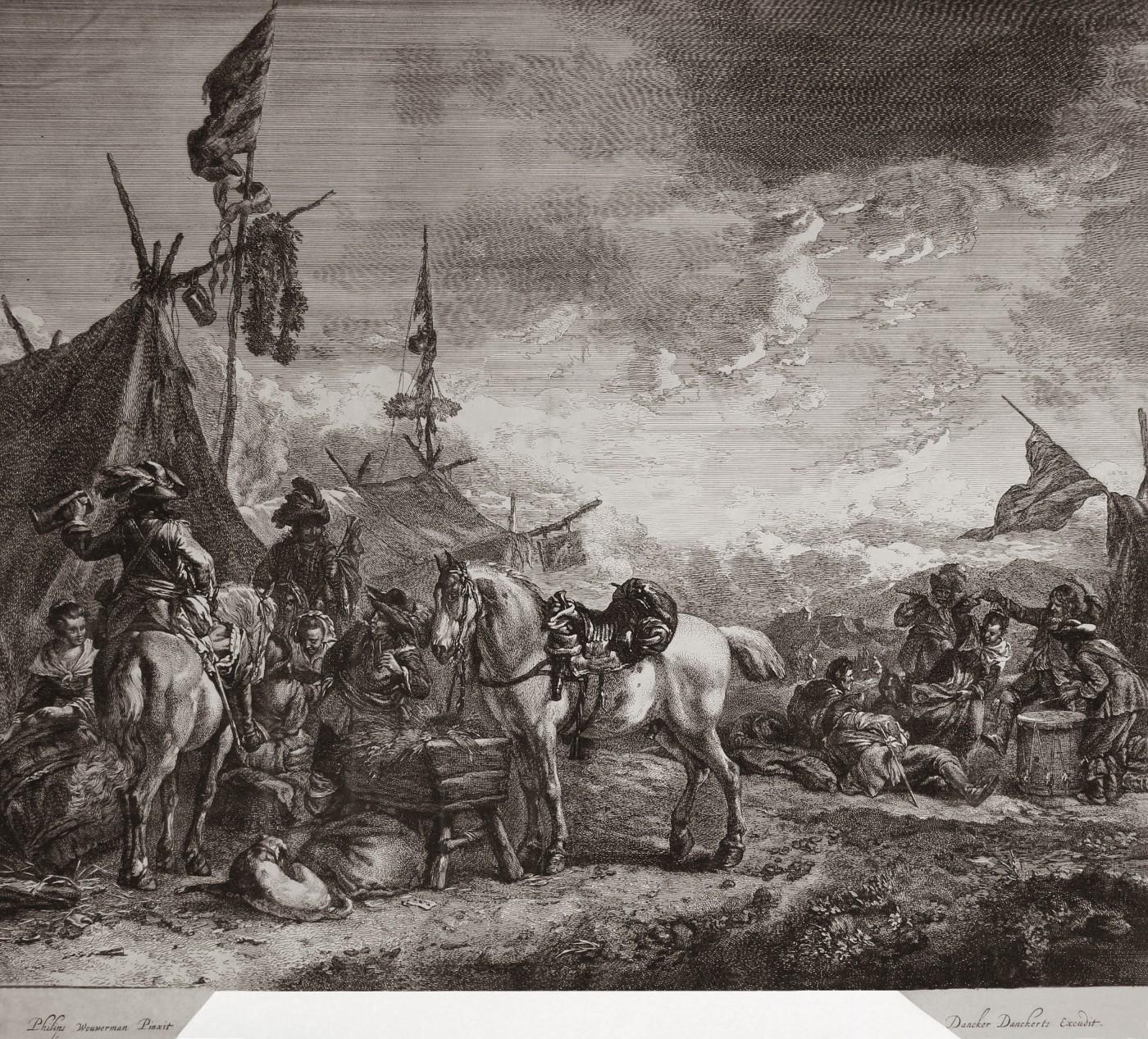 Camp. Ca. 1670.