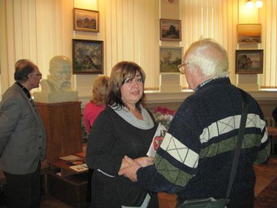 Ольга Котлярова приймає привітання