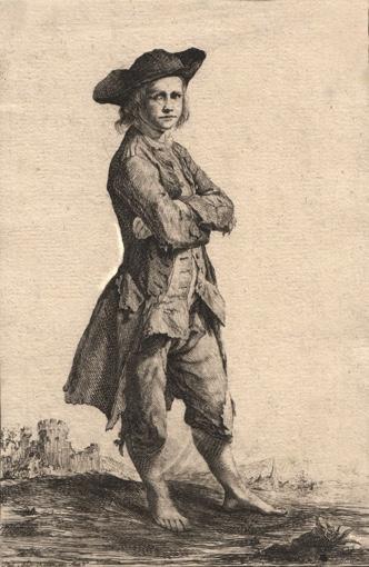 Young Beggar.