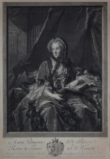 Portrait of Maria Leszczyńska, Queen of France. 1755.