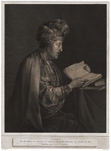 Portrait of Galileo Galilei. 1773