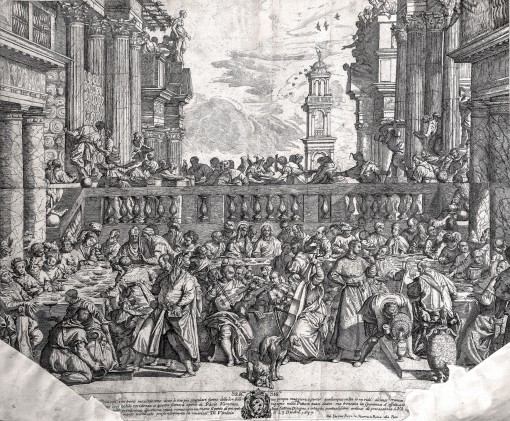 Marriage in Cana of Galilee. 1637