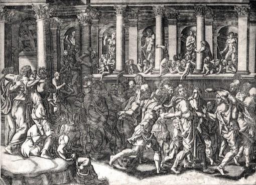 Знущання над ув'язненими. Бл. 1540.