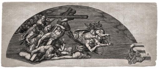 The Last Judgment. 1650. (Sheet B.)