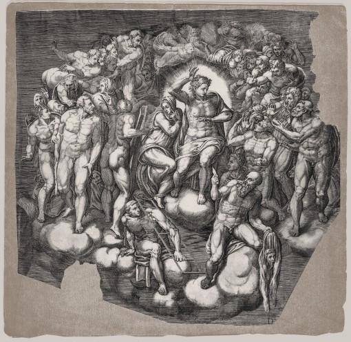 The Last Judgment. 1650. (Sheet D.)