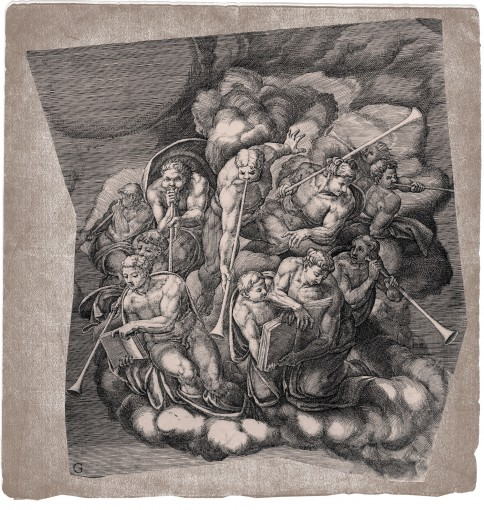 The Last Judgment. 1650. (Sheet G.)