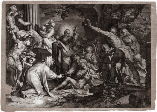 The Raising of Lazarus. 1598–1602.