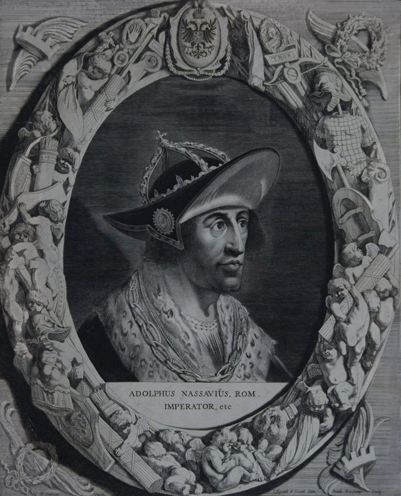 Portrait of Adolf of Nassau. Ca. 1644.