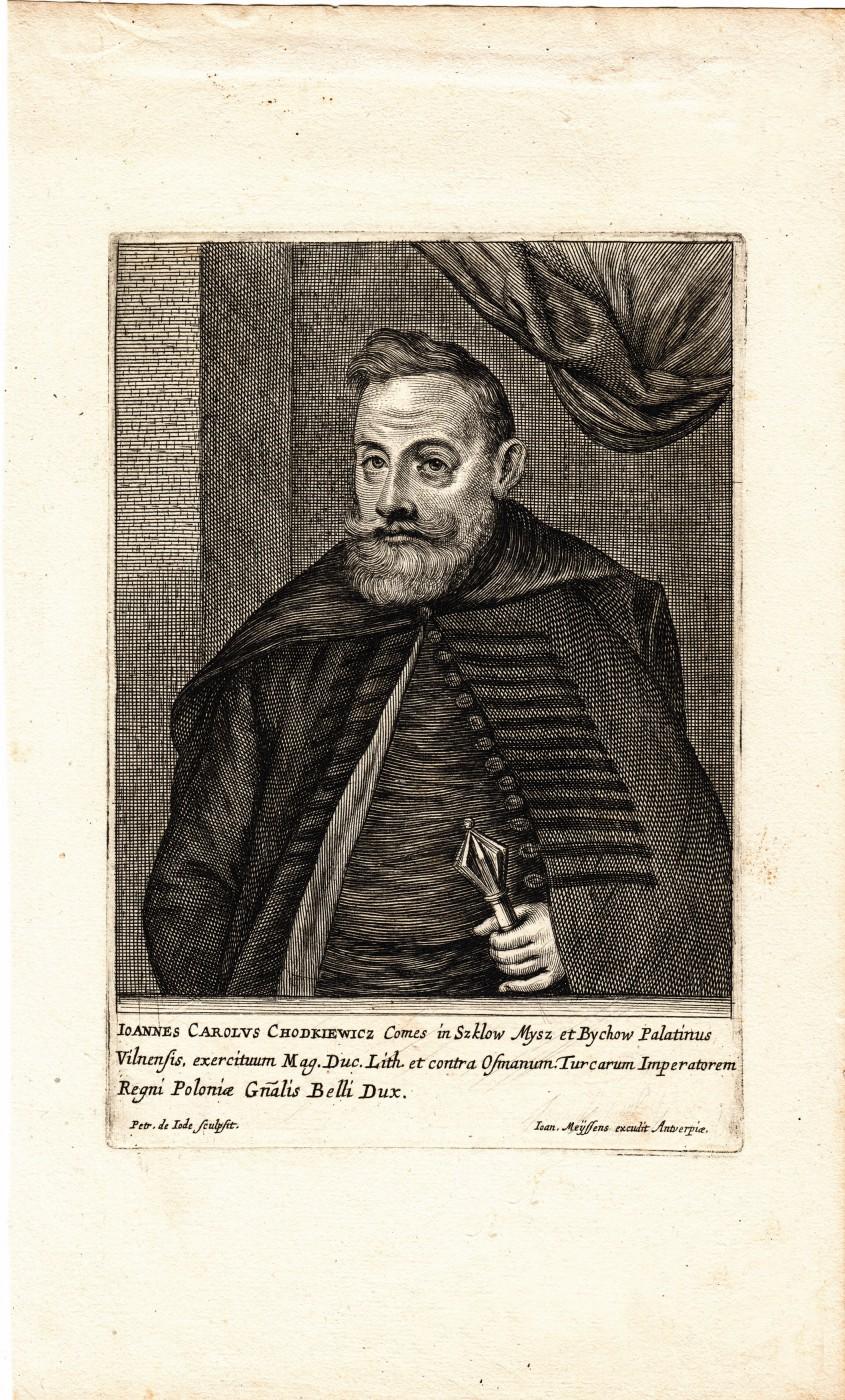 Portrait of Jan Karol Chodkiewicz