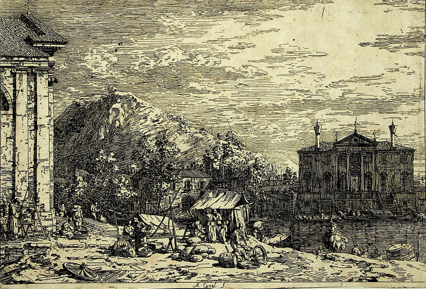 The Market in Dolo.