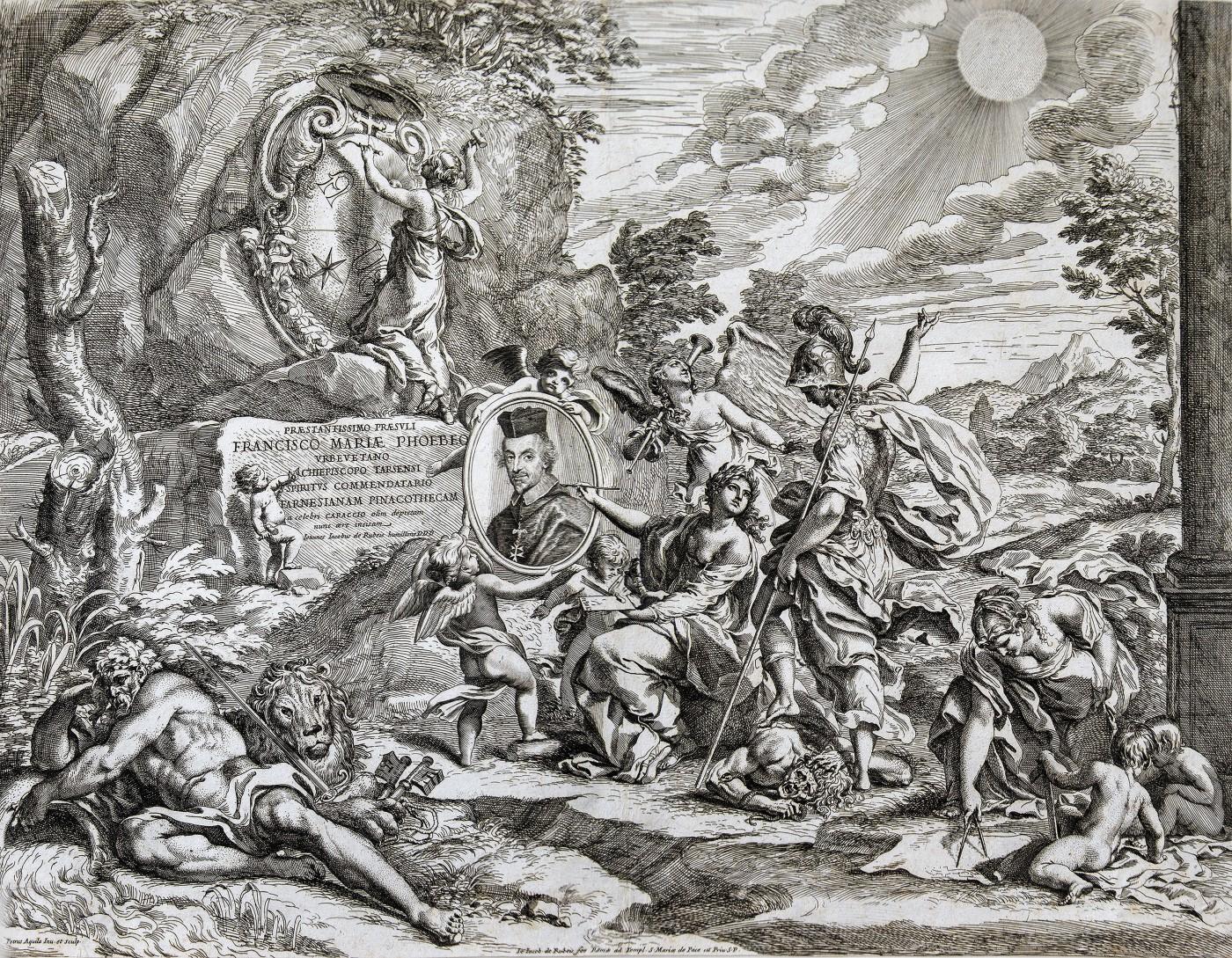 Dedication page to archbishop Francesco Maria Febei. 1674