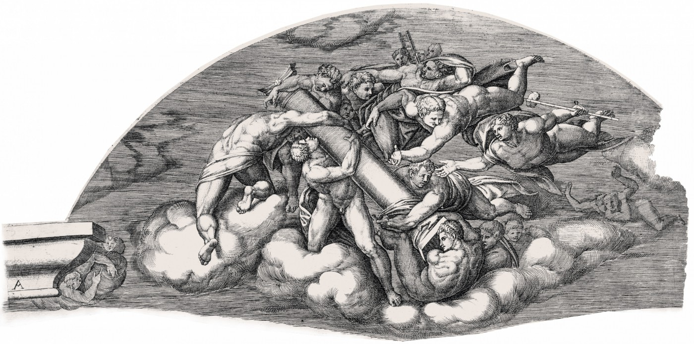 The Last Judgment. 1650. (Sheet A.)