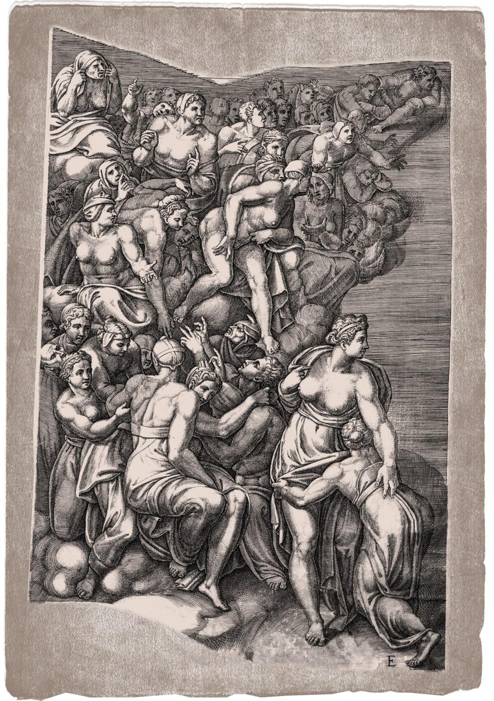 The Last Judgment. 1650. (Sheet E.)