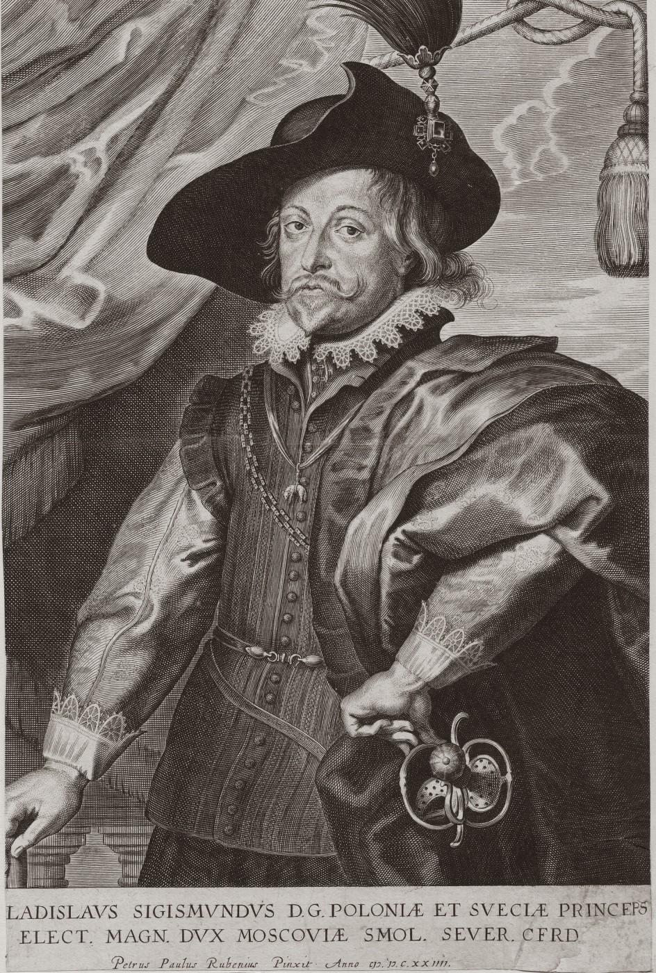 Portrait of Władysław IV Vasa. 1624–1634.
