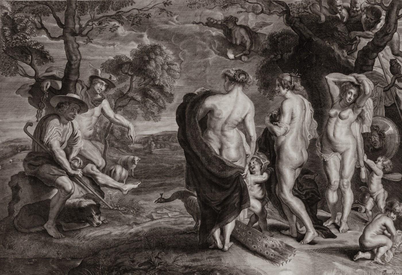 The Judgement of Paris. 1660–1670.