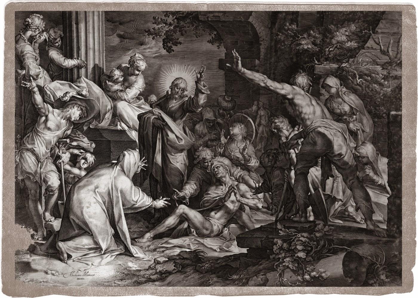 The Raising of Lazarus. 1598–1602.